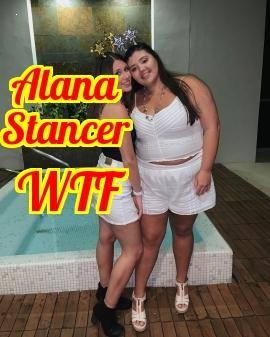 Alana Stancer . Stupid Fat Cunt . Toronto Ontario Canada