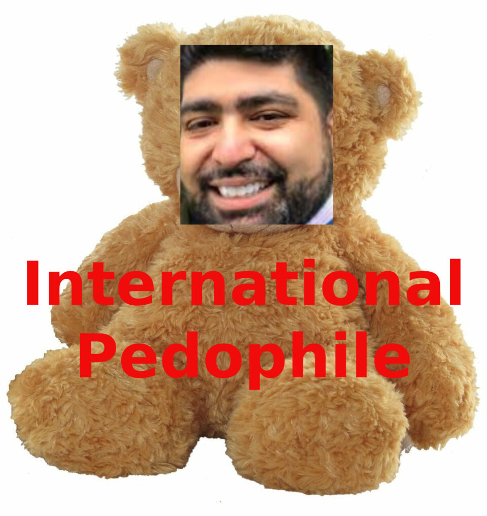 Daniel Cantorna, Psycho Diddler and Pedophile at Collinson
