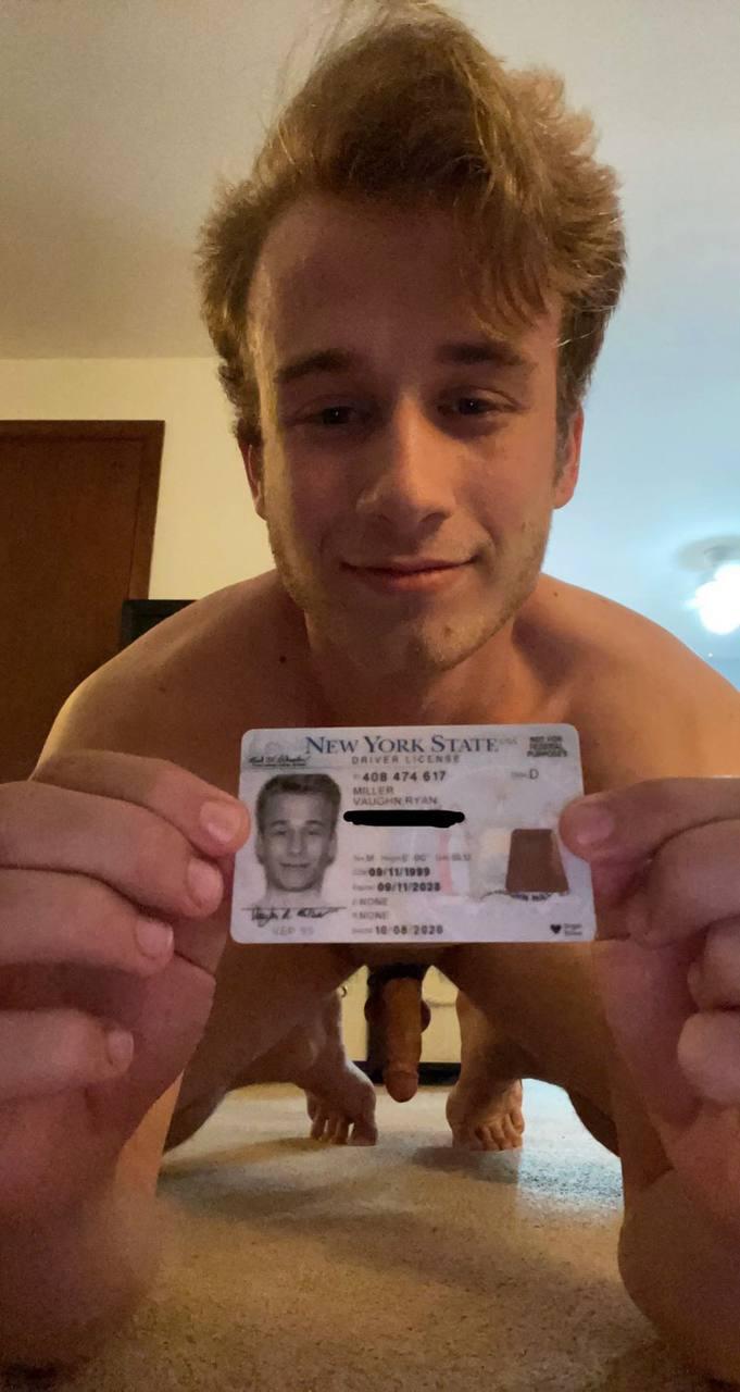 Happy Birthday Vaughn Ryan Miller Naked and Exposed